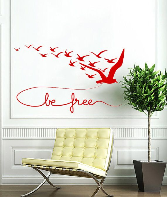 Best Wall Stencils And Decals Images On Pinterest Wall - Vinyl decals for walls etsy