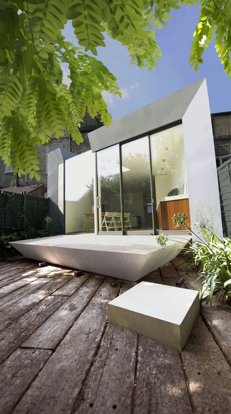 Faceted House a Modern Rear Extension to