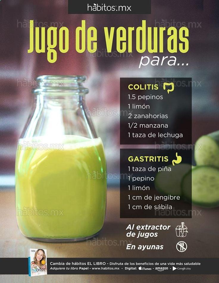 Hábitos Health Coaching | JUGOS DE VERDURAS PARA LA COLITIS Y GASTRITIS