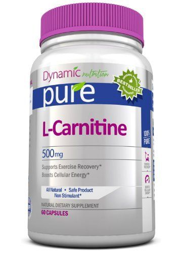 L Carnitine Pure Essential Amino Acids Best Selling Supplement Promotes Fatty Acid Metabolism Helps the Body Convert Food to Energy Providing Support for Endurance Exercise. 100% All Natural Non Gmo GMP Certified USA Made 1000mg Daily!
