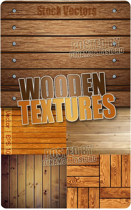 Wooden textures - Stock Vectors 5 EPS |   JPG Preview | 48 Mb rar