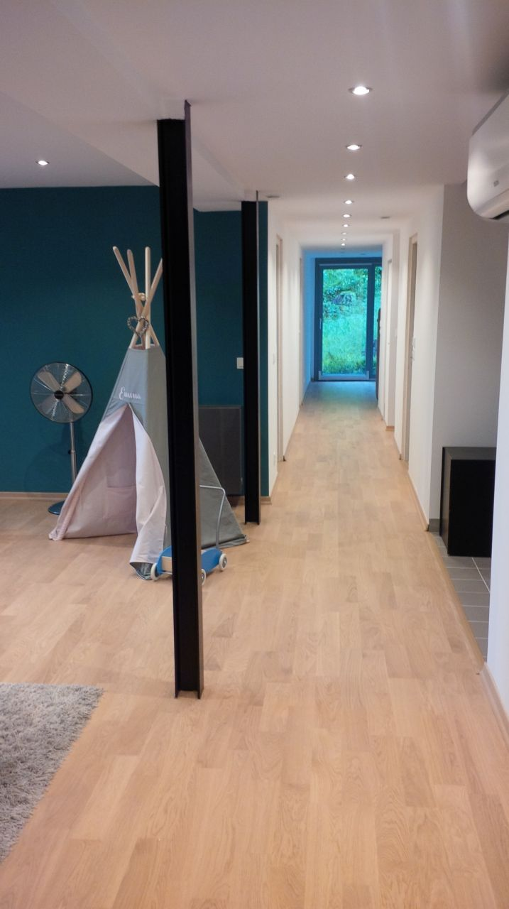 Vue du couloir intérieur