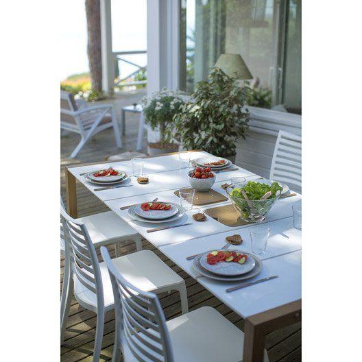 Les 25 meilleures idées de la catégorie Table de jardin grosfillex ...