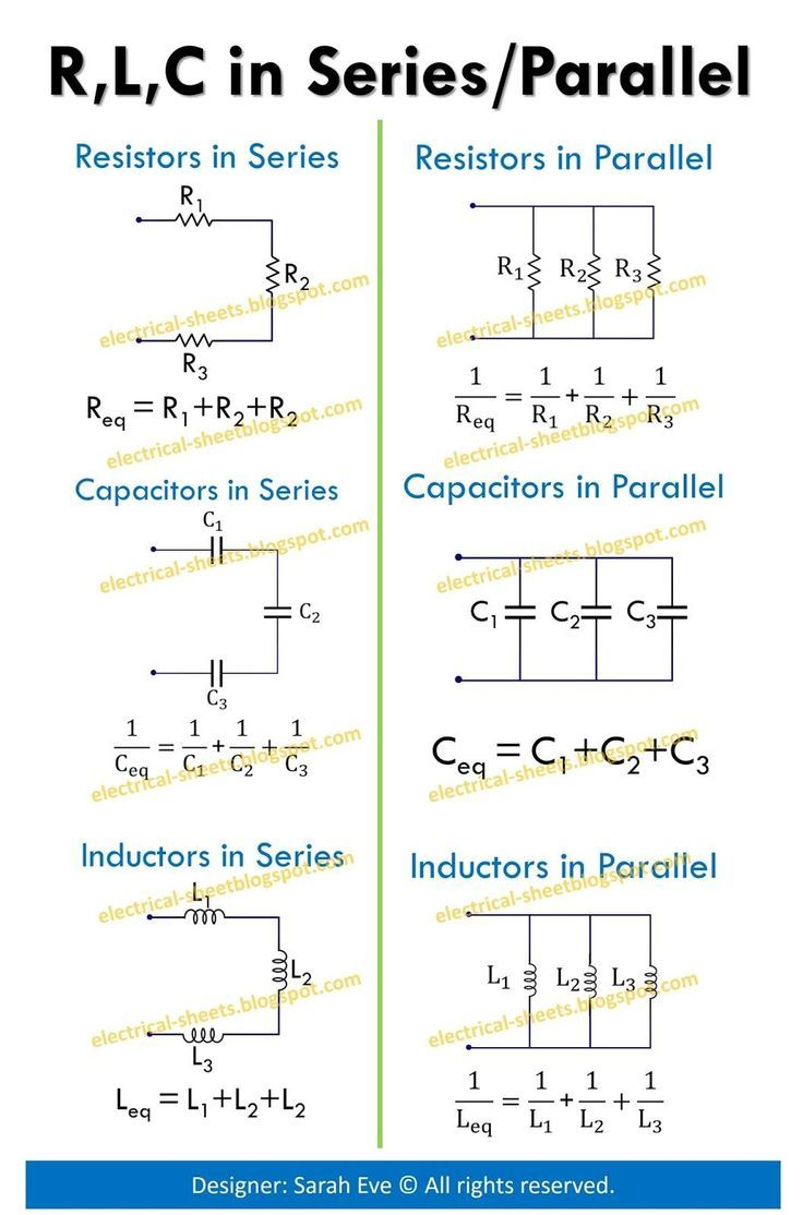 Image result for Electronic Formulas Cheat Sheet - #cheat
