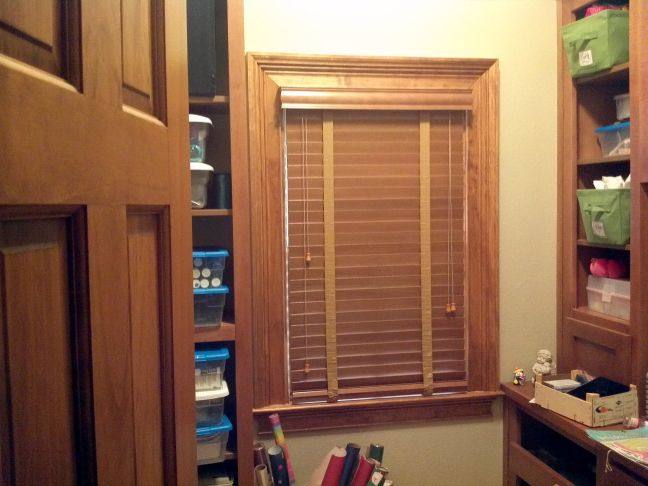 1000 Images About Stained Trim Stained Blinds On