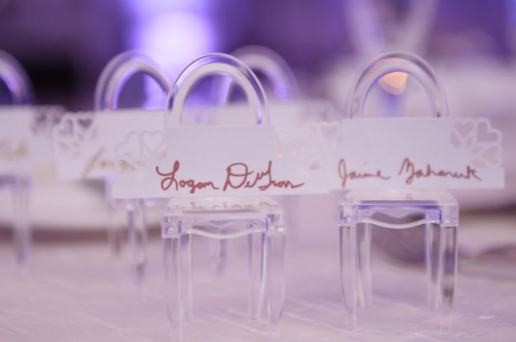 17 Best Images About Escort Cards On Pinterest