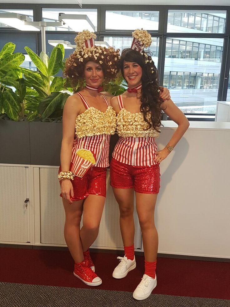 Popcorn Kostüm Karneval