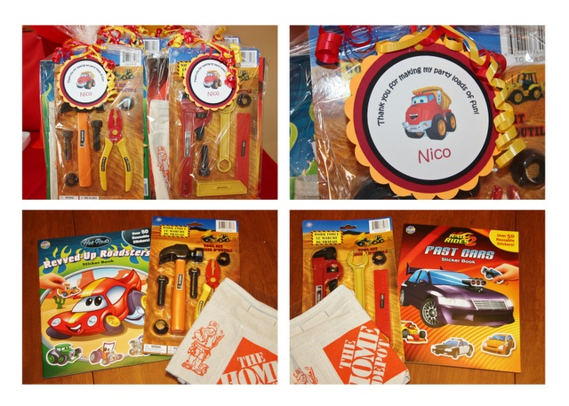 Tonka Chuck and Friends/Construction party favors