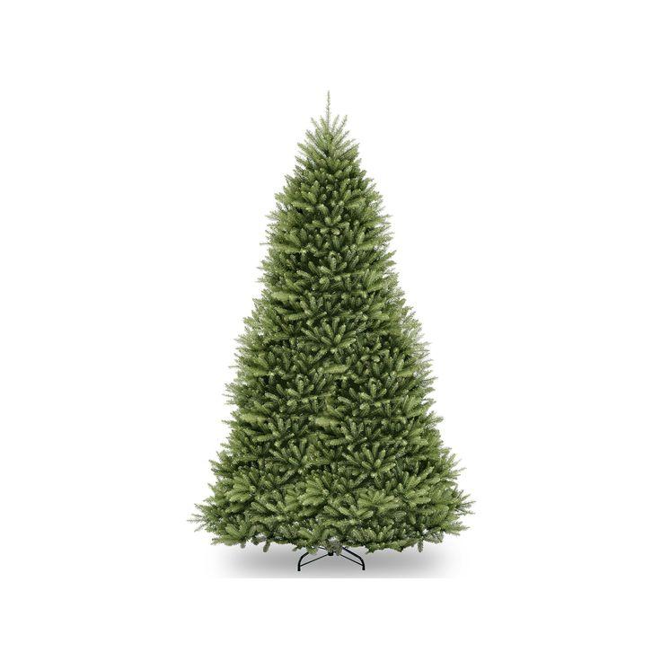 12-ft. Pre-Lit Dunhill Fir Artificial Christmas Tree, Green