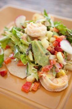 Jicama Tostada With Shrimp Salad: Recipes Ideas, Food Recipes, Shrimp Salad, Salad Recipes, Style, Recipe Ideas, Vegans Recipes, Recipes Spain 3, My Sister