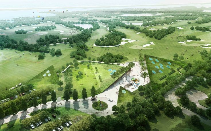 Olympic Golf Camp Headquarters Competition Entry (2)