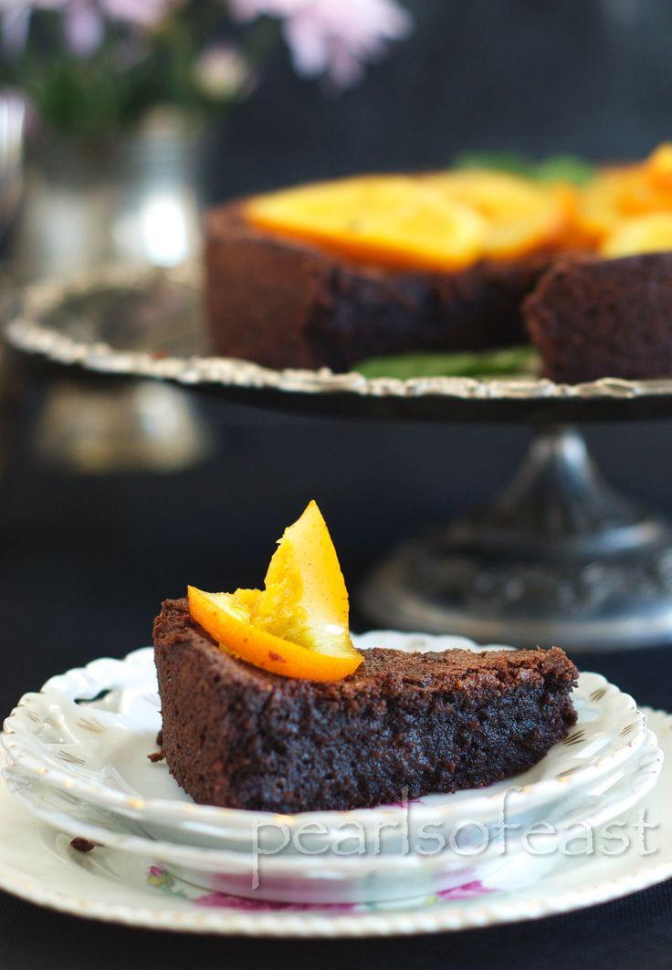 Almond and Orange cake-5