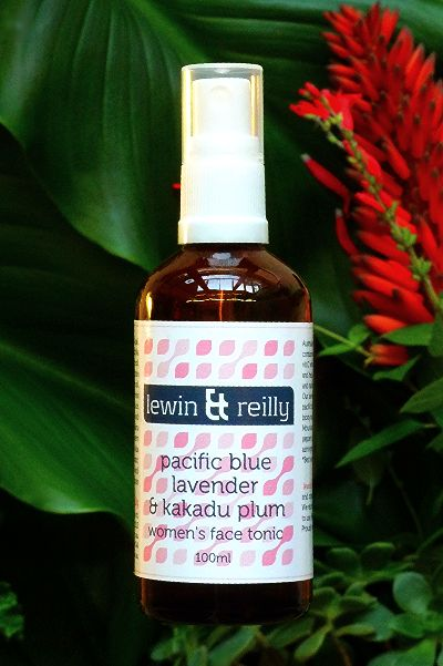 lewin & reilly organic & wild harvested skin care  Handcrafted in Melbourne, Australia  Women's face tonic, pacific blue lavender & kakadu plum   http://www.lewinandreilly.com.au/collections/all/products/pacific-blue-lavender-kakadu-plum-womens-face-tonic