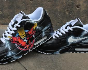 innovative design b57ac a61f1 Nike Air Max 90 Blue Galaxy Style Painted Custom Shoes Sneaker Airbrush  Kicks rare schuhe  UNIKAT  handpainted shoes dripping swoosh   NIKE   ADIDAS  REEBOK  ...