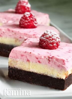 Raspberry Cheesecake Brownie Femina