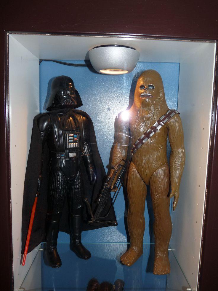 https://flic.kr/p/LxCfLV   Vintage Kenner Large Size Darth Vader & Chewbacca Figures