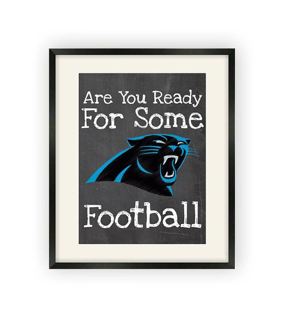 Carolina Panthers Are You Ready For Some By BigLeaguePrints, $12.00