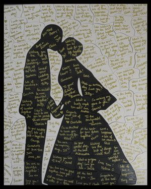 Guest Book Puzzle 4090 pieces Bride & Groom by PurpleTreeBox