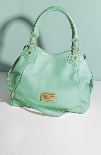 Throwing this minty delight over the shoulder! Marc by Marc Jacobs