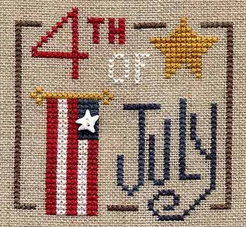 Free Design, Celebrate the 4th (Love the little star bead)