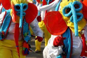 Barranquilla durante il Carnevale.
