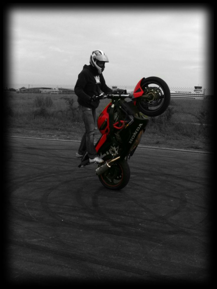 Wheeling, Moto, France, Honda, Stunt