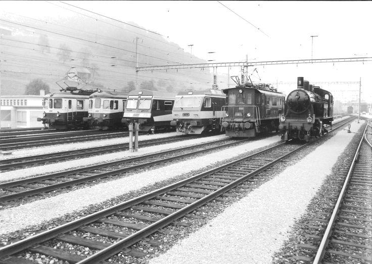 Lokparade der Bodensee-Toggenburgbahn (BT).