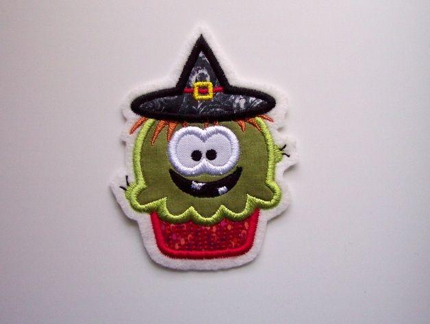 Aufnäher - Halloween-Applikation - ein Designerstück von Stoffzauber bei DaWanda