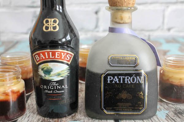 baileys and patron xo