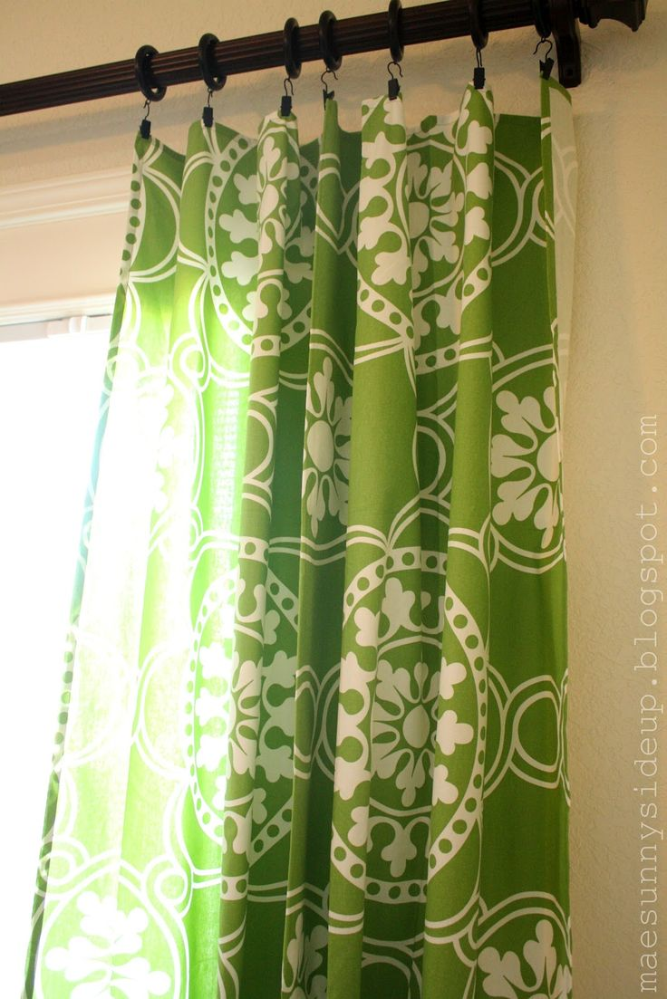 60 X 84 tablecloths as curtain panels for sliding glass doors. So much cheaper than buying curtains.