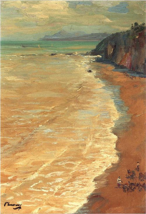 From the Cliffs - 1901 John Lavery