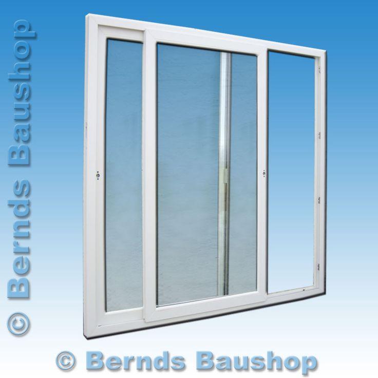 Best Details zu Schiebet r Balkont r Terrassent r Wintergartenelement wei Kunststoff H he