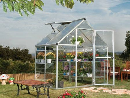 Brighton hybrid 6x4' greenhouse