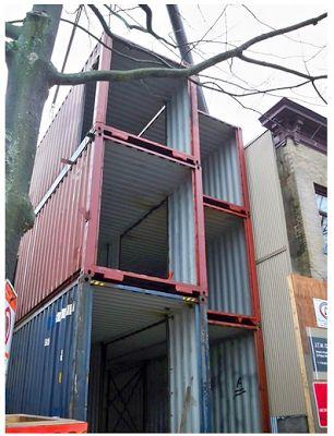 Casas de envío de contenedores