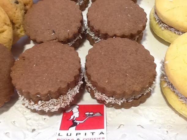 Alfajores de chocolate. 24€/kg