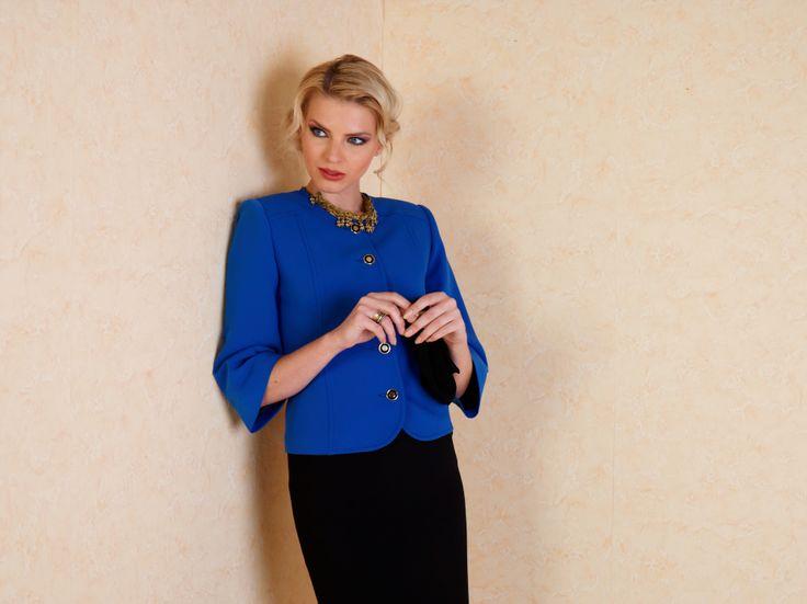 #ceket #mavi #moda #fashion
