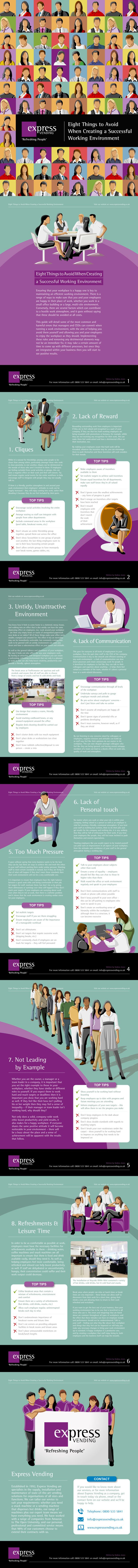 15 best college teaching tips images on pinterest gym learning 8 mistakes to avoid for a successful working environment ebook fandeluxe Image collections