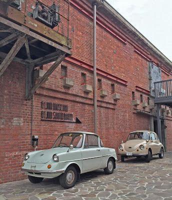 Japanese tiny car. Mazda R360 & Subaru 360.  #vintage