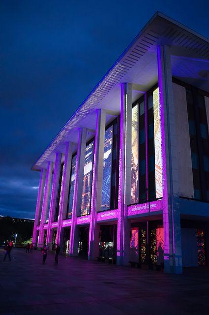 Enlighten Festival - National Library of Australia - Canberra