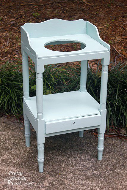 Lovely Painting An Antique Wash Stand With Wagner Power Painter Plus .