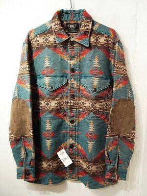 RRL Indian Blanket Jacket