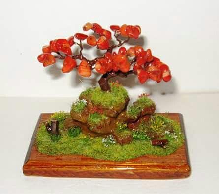 Diorama bonsai fantasy . 10