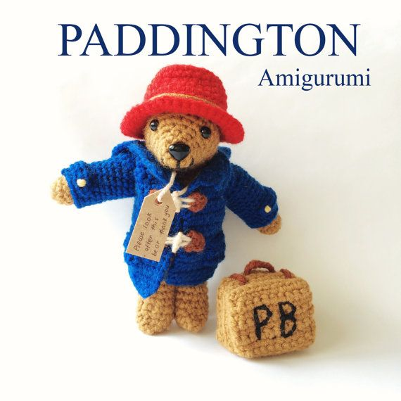 Amigurumi Paddington Bear : 1000+ images about Amigurumi - Teddys on Pinterest Bears ...