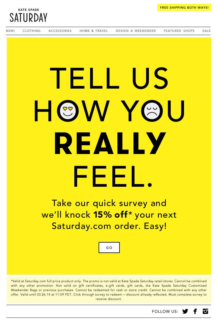 Best Survey Emails Images On   Email Design Email