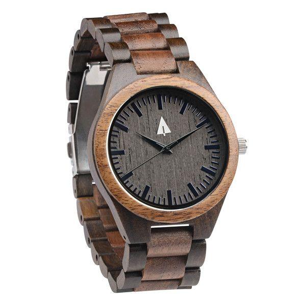 Ebony + Walnut   All wooden watch