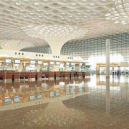 Mumbai's Chhatrapati Shivaji International Airport Terminal 2 by SOM. Photo by Robert Polidori/SOM and Mumbai International Airport.