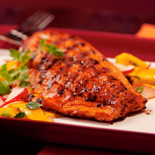 Grilled Red Snapper with Mango Salad - The Pampered Chef®