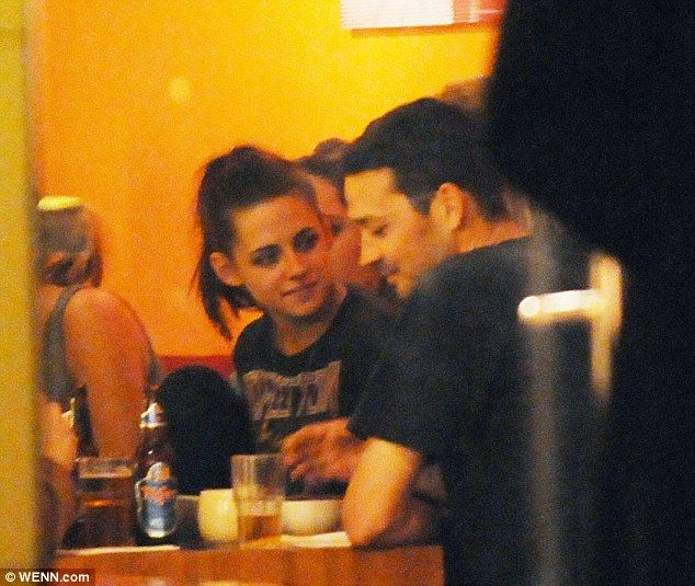 Uh Oh: Kristen Stewart and (other man) Rupert Sanders in May