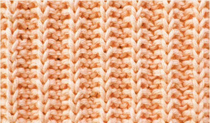 Kazak, hırka ve yeleklerin kol kısımlarında ve eteklerin alt kısımlarında sıklıkla kullandığınız lastik örgü için yeni bir modeldir.