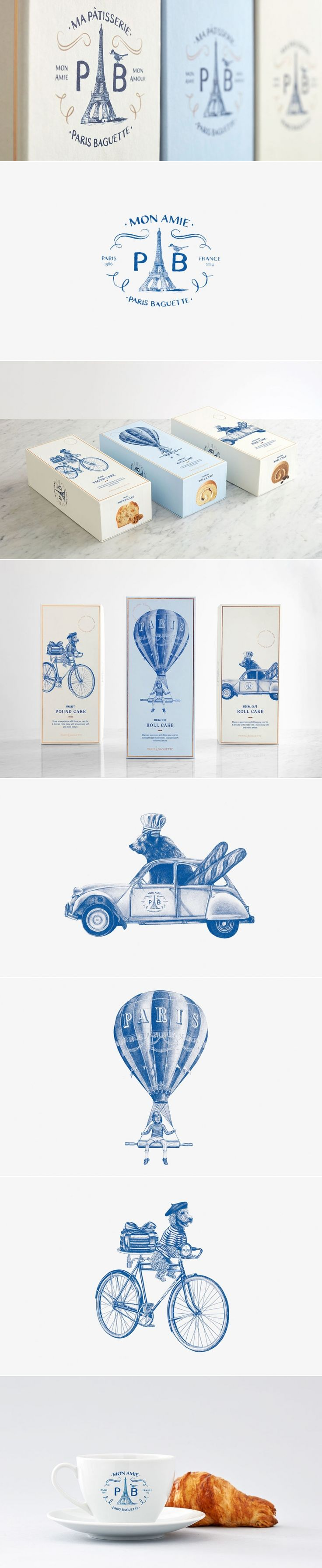 Paris Baguette — The Dieline | Packaging & Branding Design & Innovation News